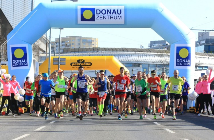 26.03.2017 Leichtathletik, Donauzentrum, Wien, Halbmarathon 2017 Start, Andreas Vojta,   Copyright DIENER / Eva Manhart www.diener.at